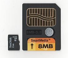 SmartMedia Card (SM)|Tech-Info