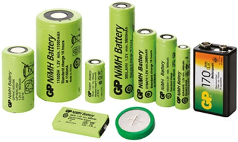 Nickel-metal-hydride batteries